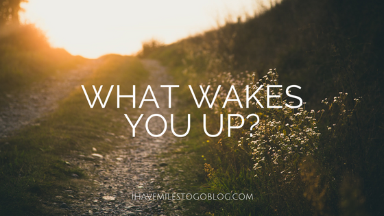 What Wakes You Up?